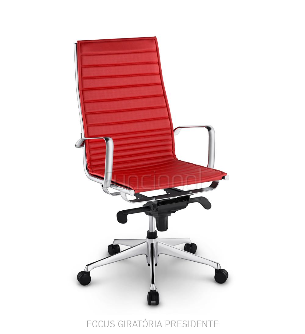Cadeira de Escritório Executiva – Linha Focus