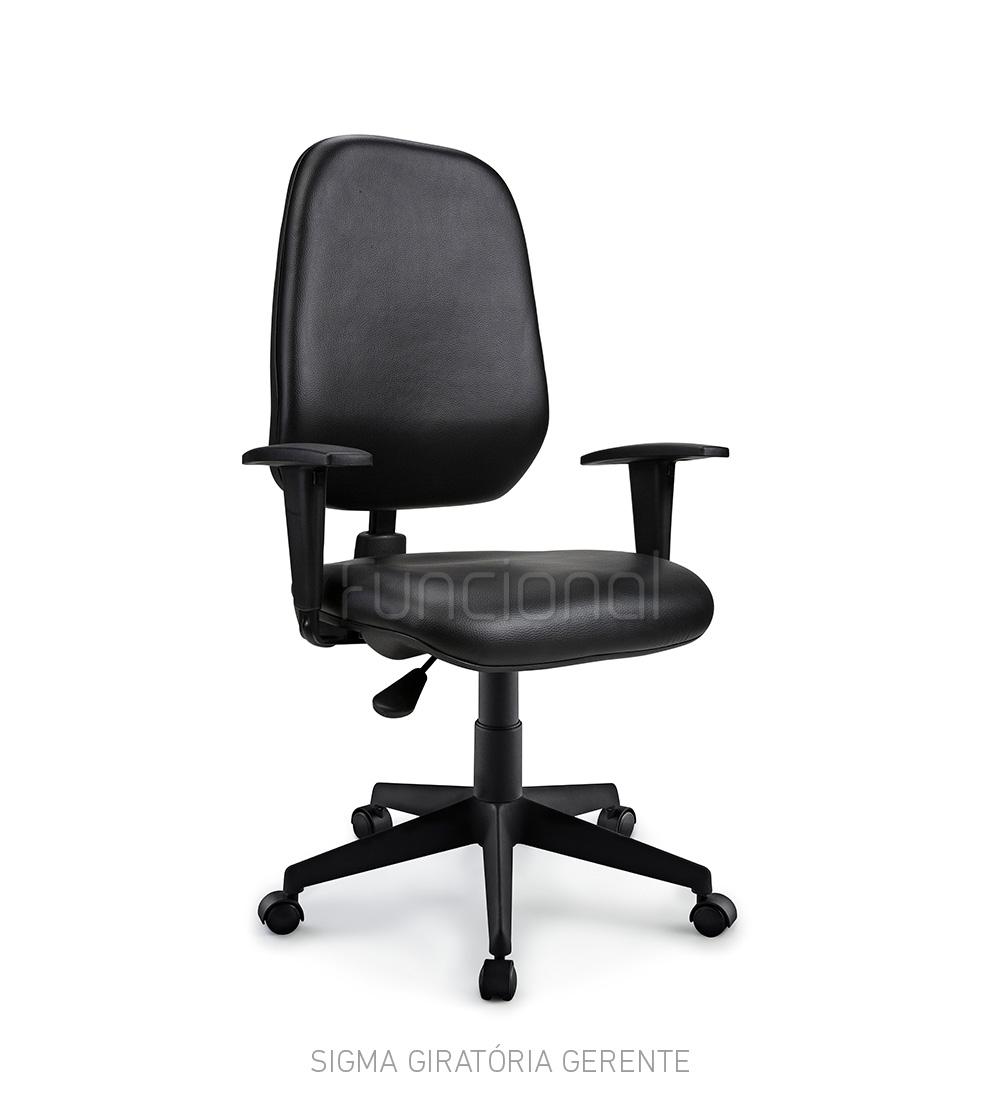 Cadeira de Escritório Operacional – Linha Sigma
