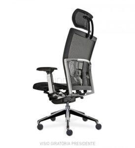 cadeira para escritório ergonômica em tela