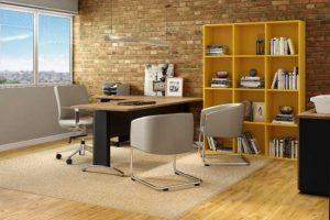 Imagem mostra como montar um home office produtivo
