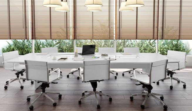 iluminação para decoração de escritório