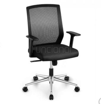 cadeira de escritório gift preta